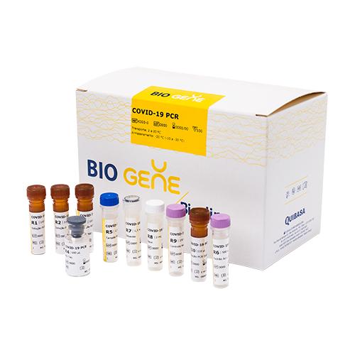 BIO GENE COVID-19 PCR (100 TESTES / 2 ALVOS / CE) - K228-1